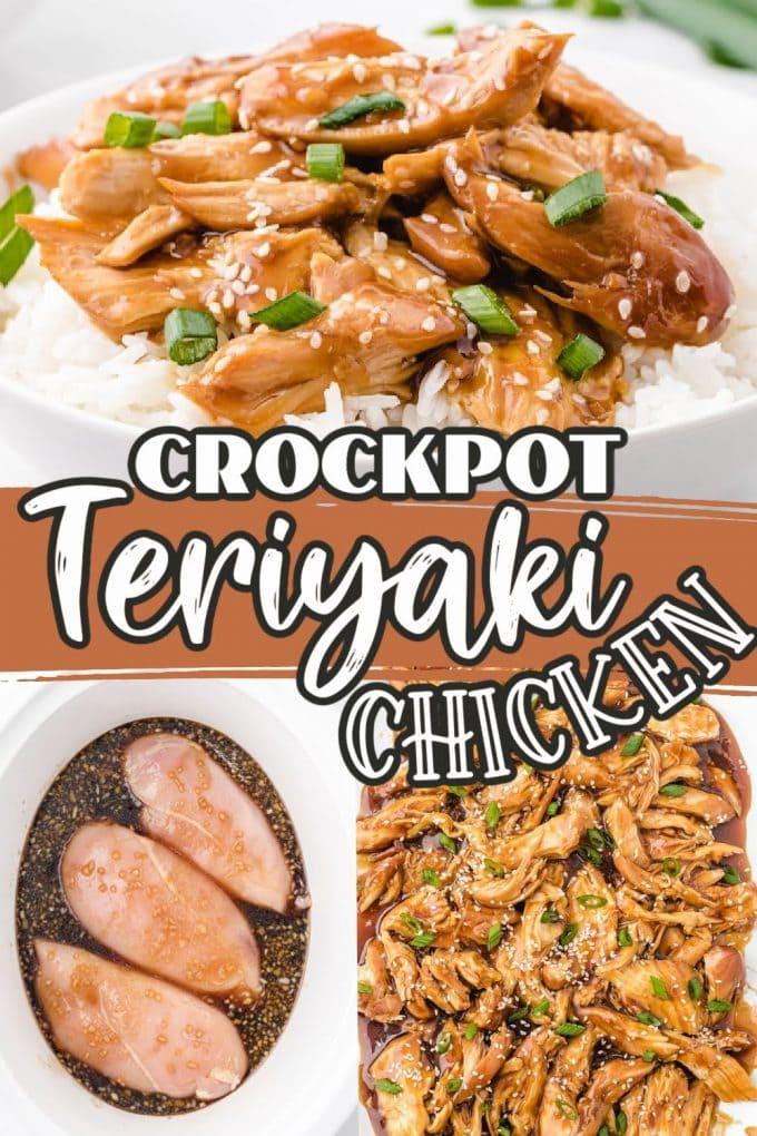 Slow Cooker chicken teriyaki pinterest