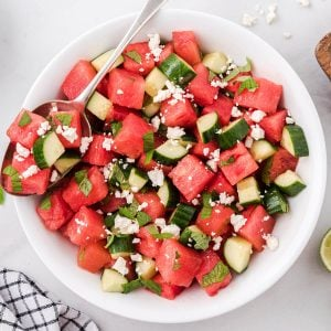 watermelon salad featured image