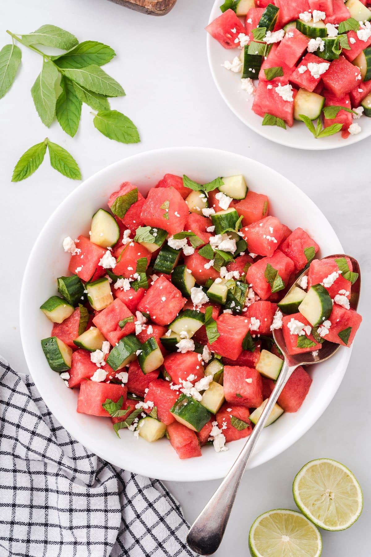 watermelon salad hero image