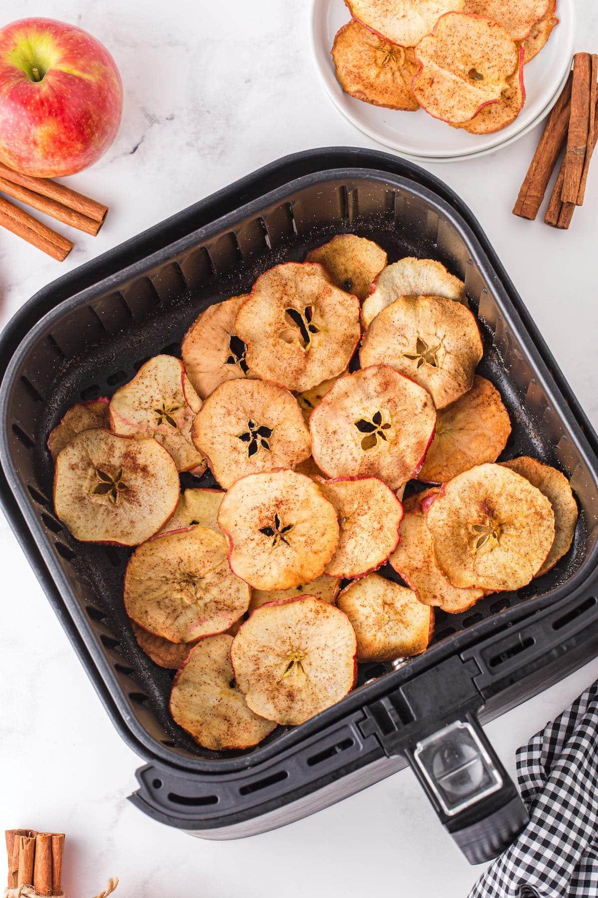 apple chips in air fryer