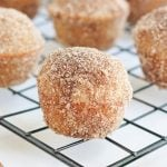 apple cider doughnut holes featured image