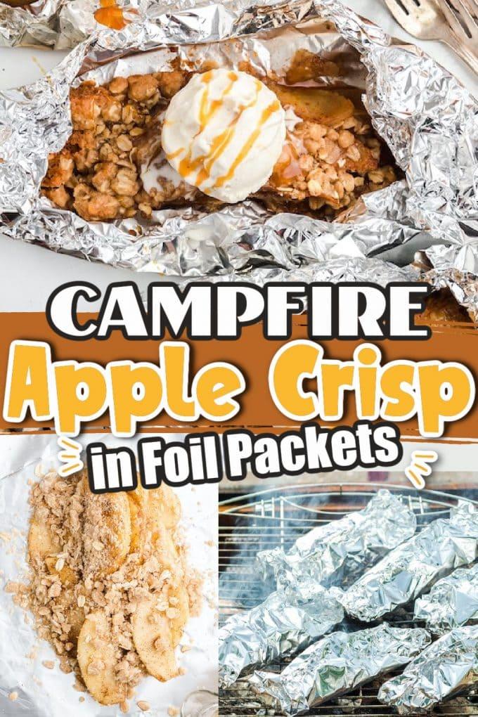 Campfire Apple Crisp Pinterest