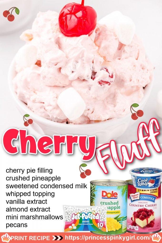 cherry fluff pinterest