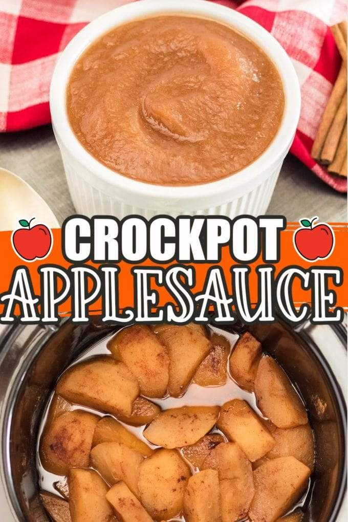 crockpot apple sauce pinterest