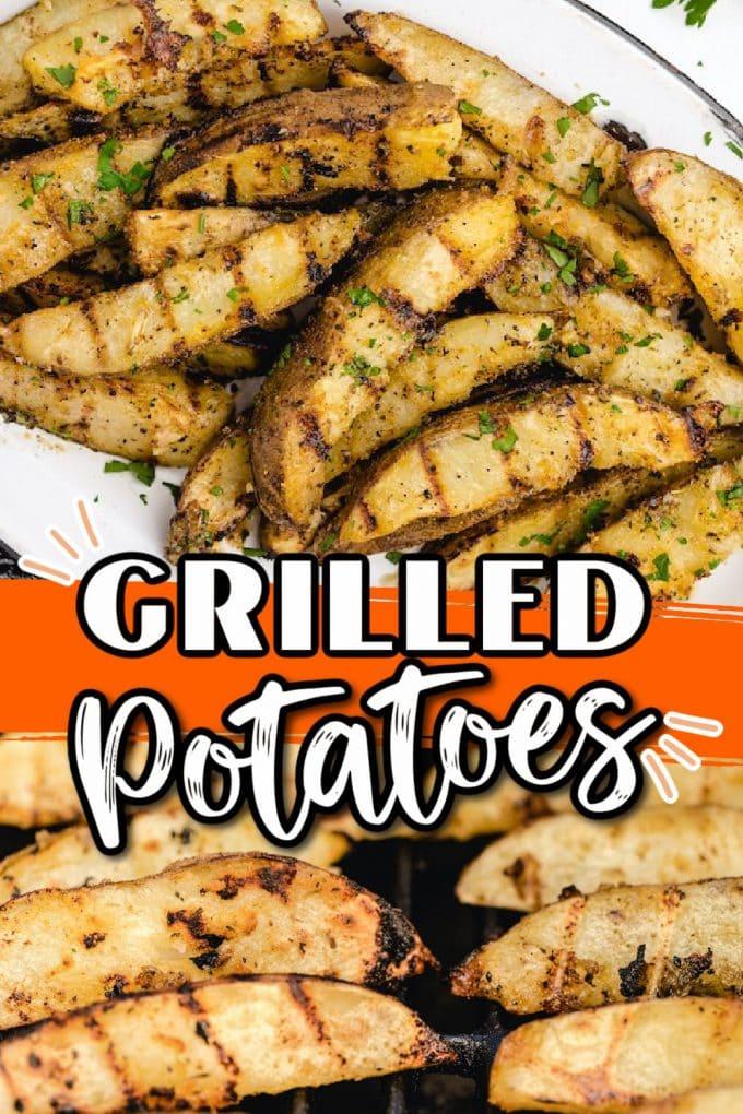 grilled potatoes pinterest
