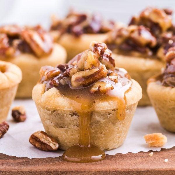 Pecan Pie Bites feature image
