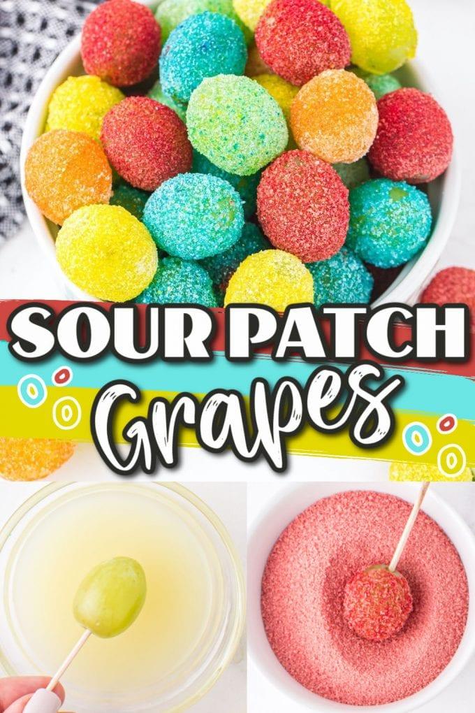 Sour Patch Grapes Pinterest