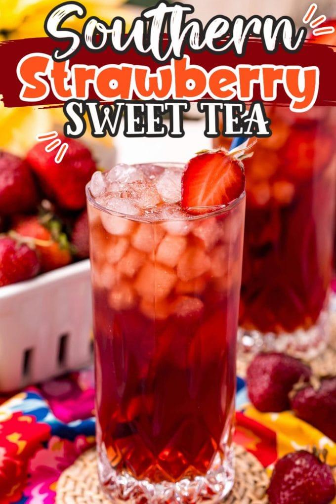strawberry sweet tea pinterest