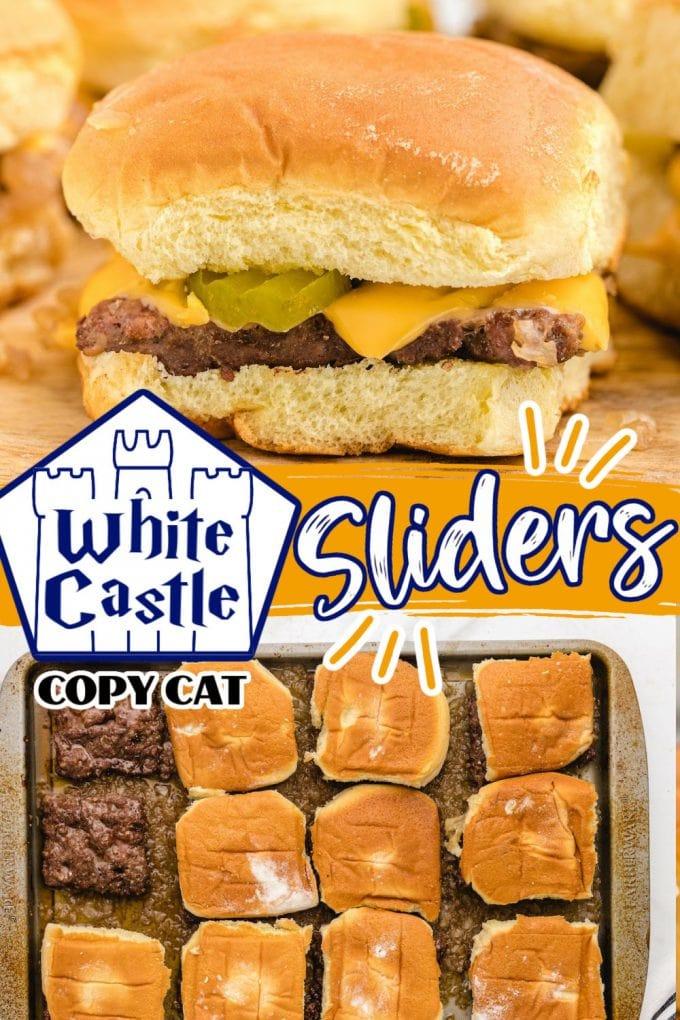 white castle sliders pinterest