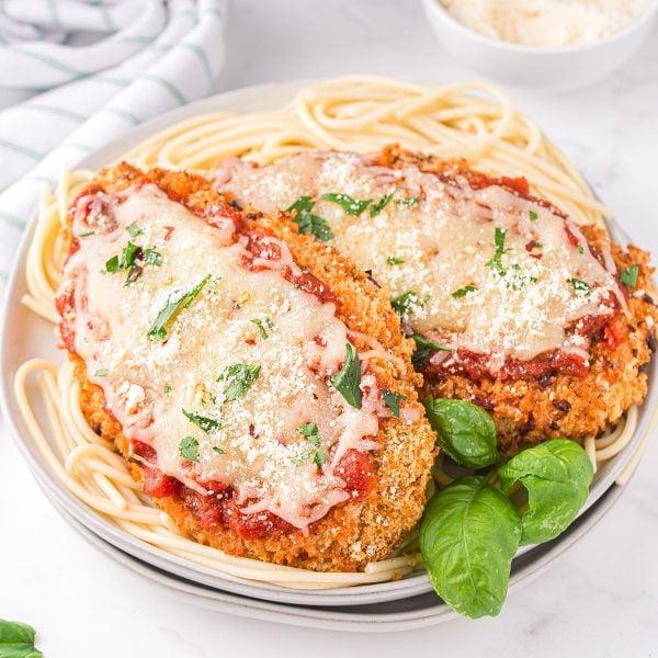 Air Fryer Chicken Parmesan feature image