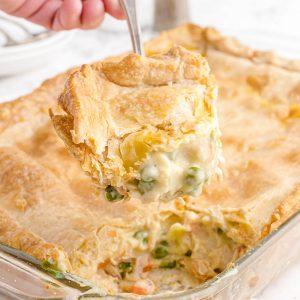 Chicken Pot Pie Bake feature image
