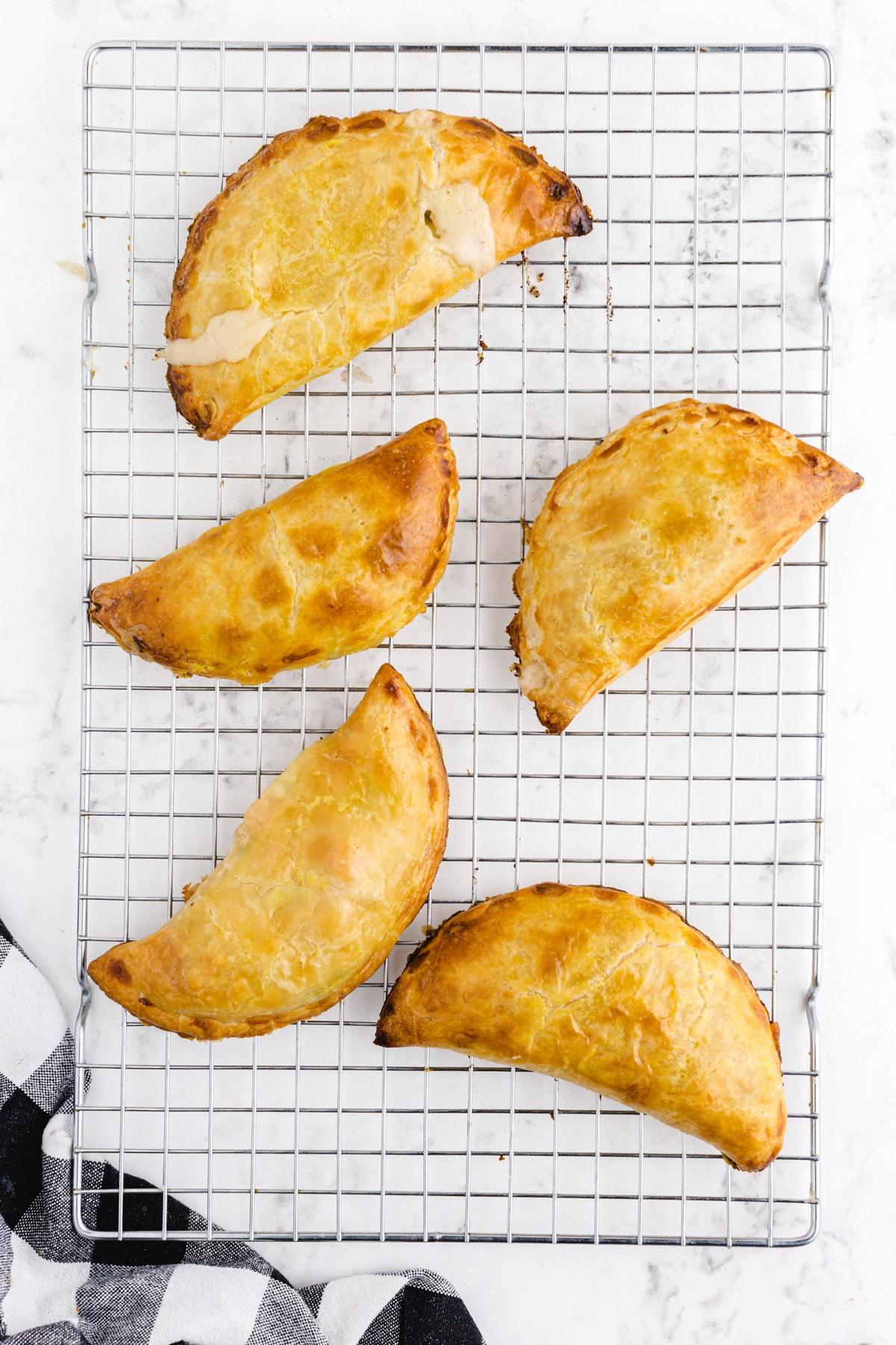chicken pot pie hand pies