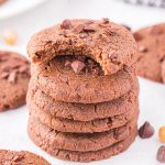 chickpea cookies featured image