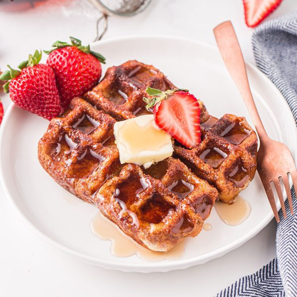 French Toast Waffles feature image