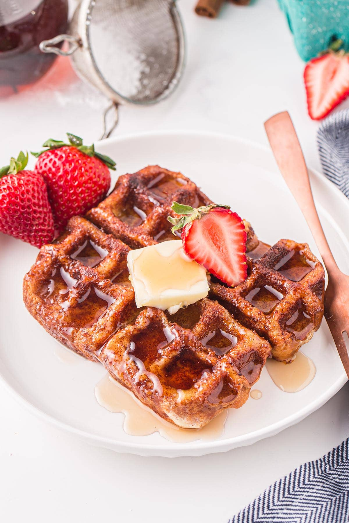 French Toast Waffles hero image