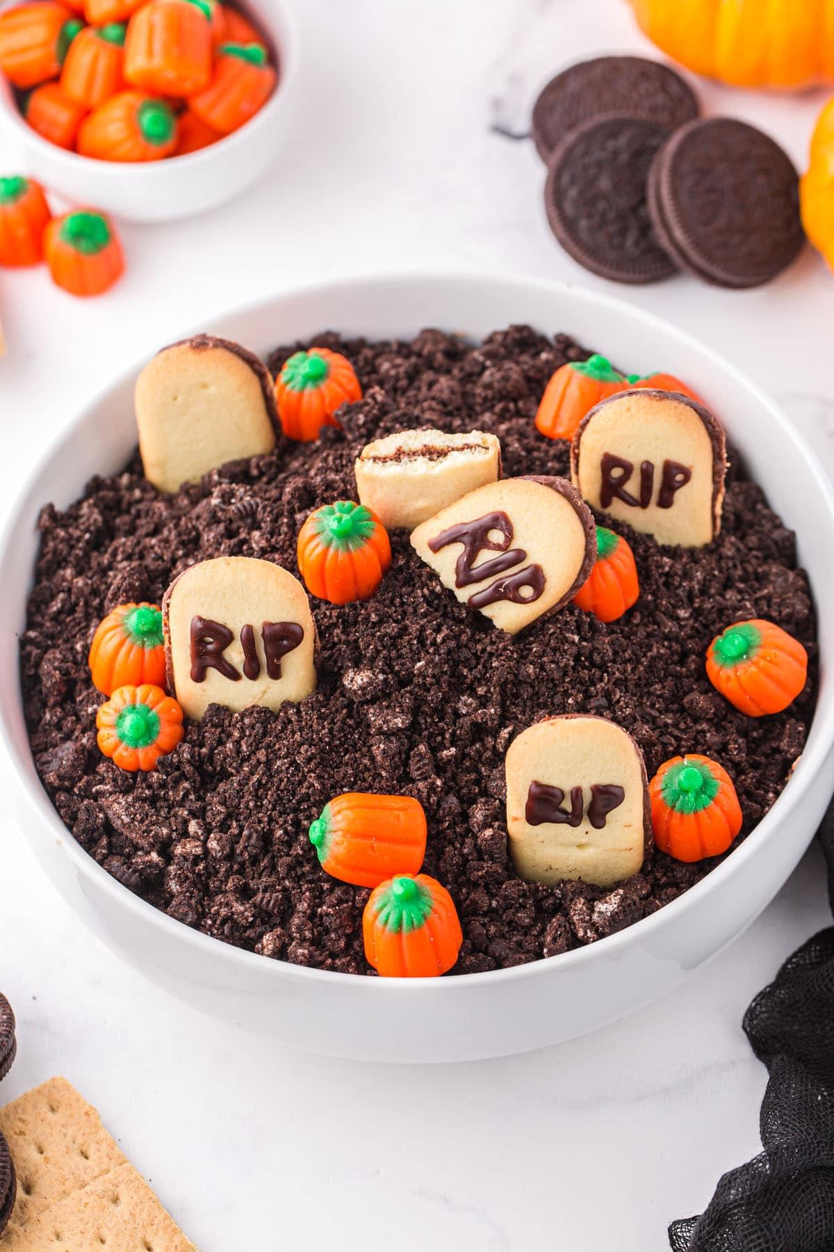 Halloween Graveyard Dip hero image