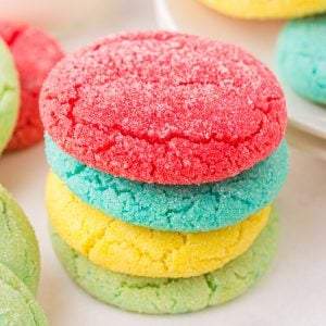 Jello cookies feature image