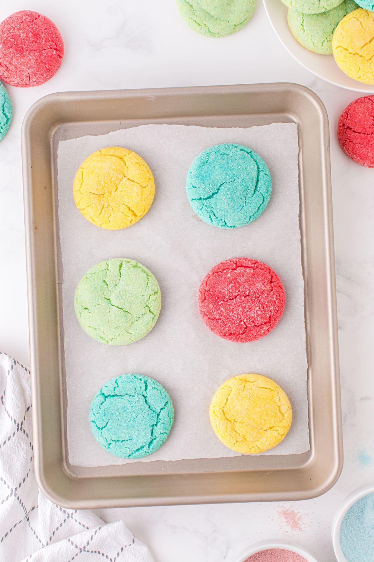 baked jello cookies