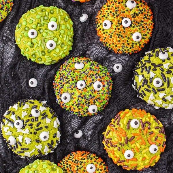 Monster Sprinkle Cookies feature image