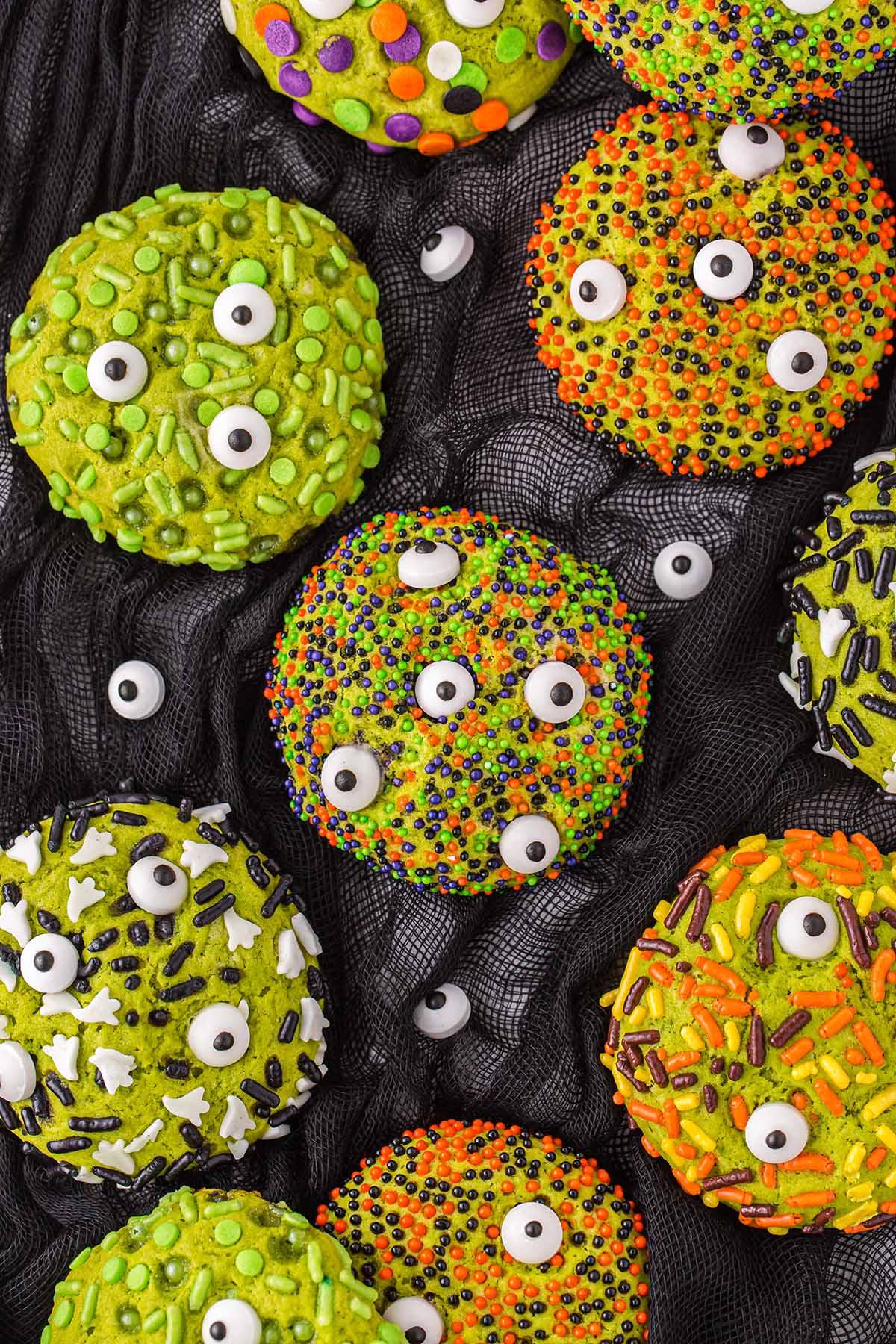 Monster Sprinkle Cookies hero image