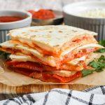 Pizza Quesadillas feature image