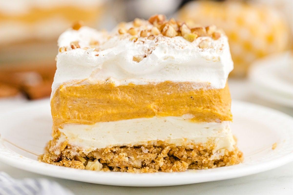 pumpkin delight on a plate