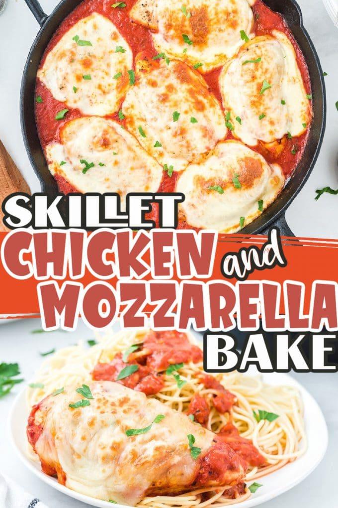 Mozzarella Chicken pinterest