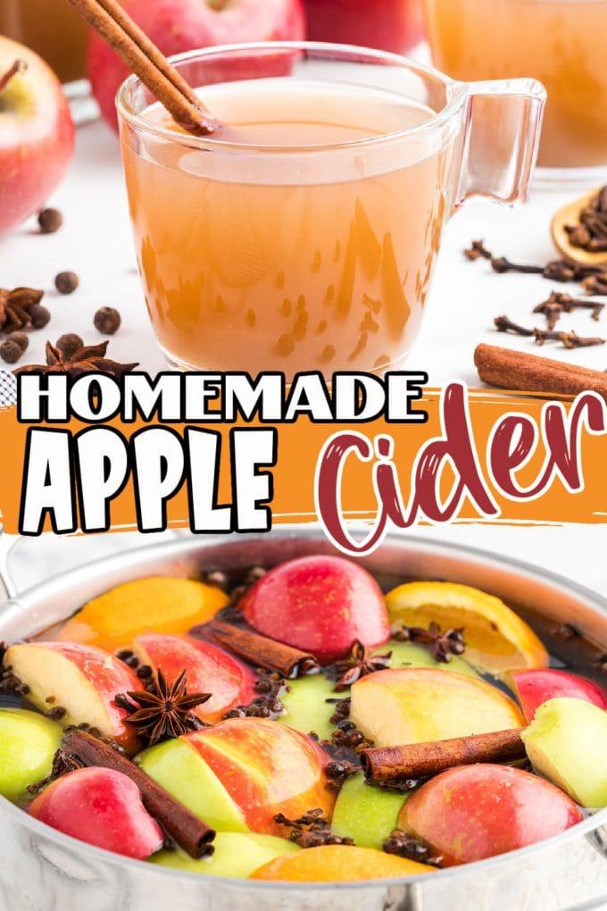 Homemade Apple Cider Pinterest