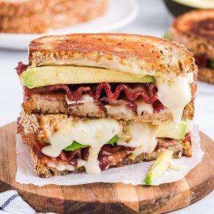Bacon Avocado Sandwich feature image