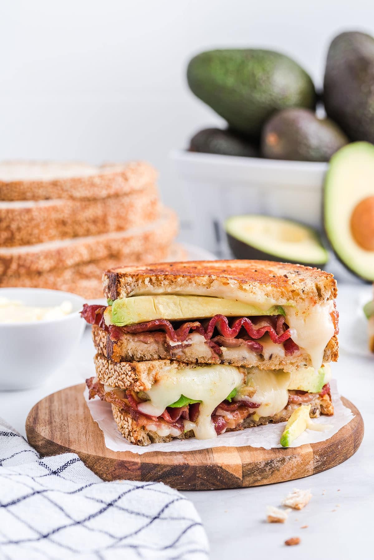 Bacon Avocado Sandwich hero image