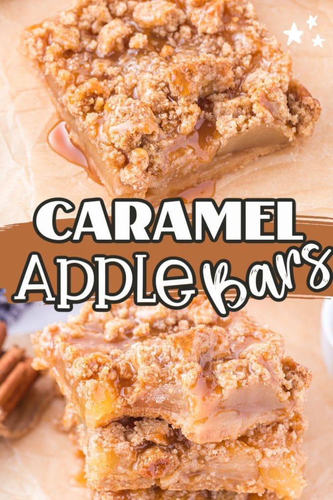 Caramel Apple Bars pinterest