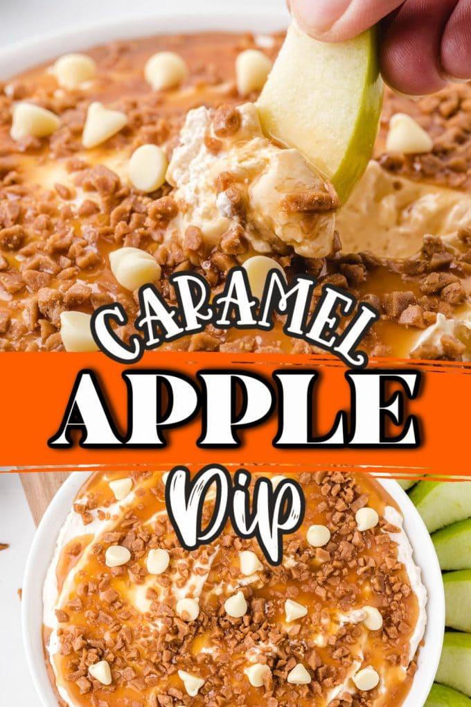 caramel apple dip pinterest