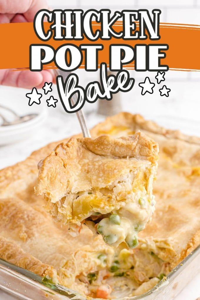 Chicken Pot Pie Bake pinterest