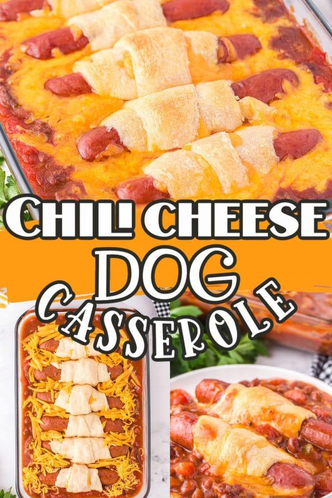 Chili Cheese Dog Casserole pinterest