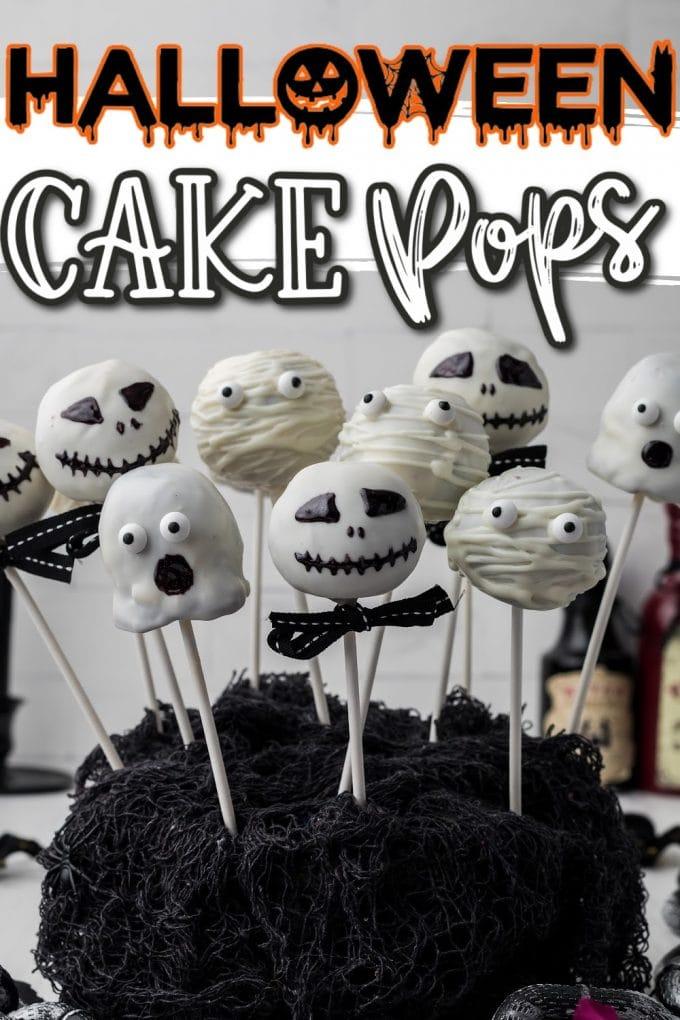 halloween cake pops pinterest