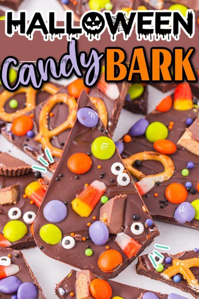 Halloween Bark pinterest