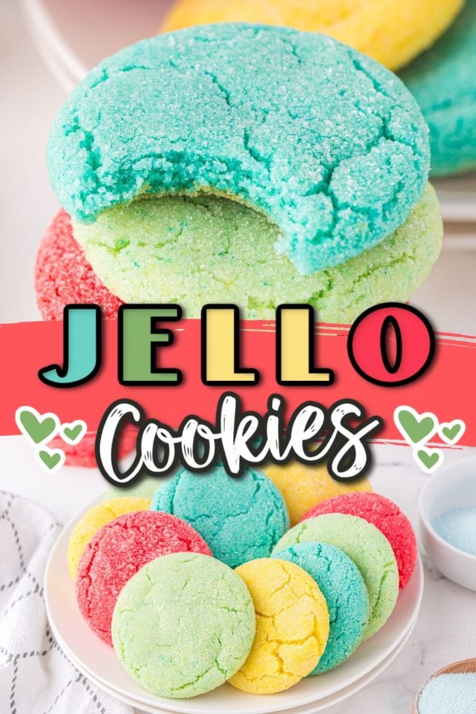 Jello Cookies pinterest