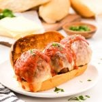 meatball subs featured image