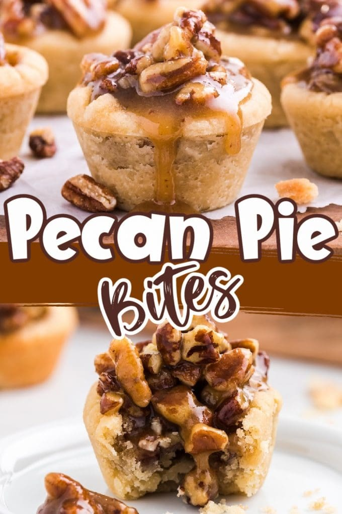 Pecan Pie Bites pinterest