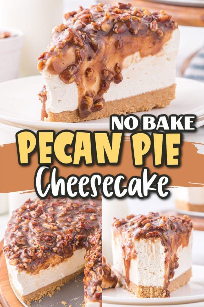 pecan pie cheesecake pinterest