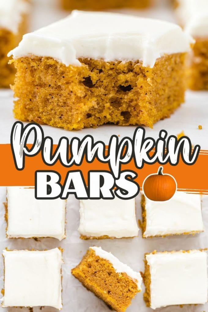 pumpkin bars pinterest