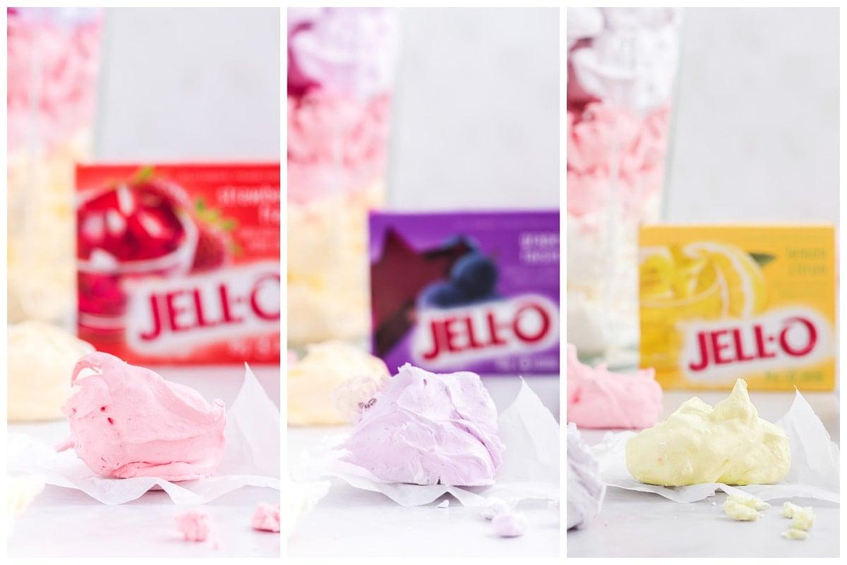 3 flavors jello divinity