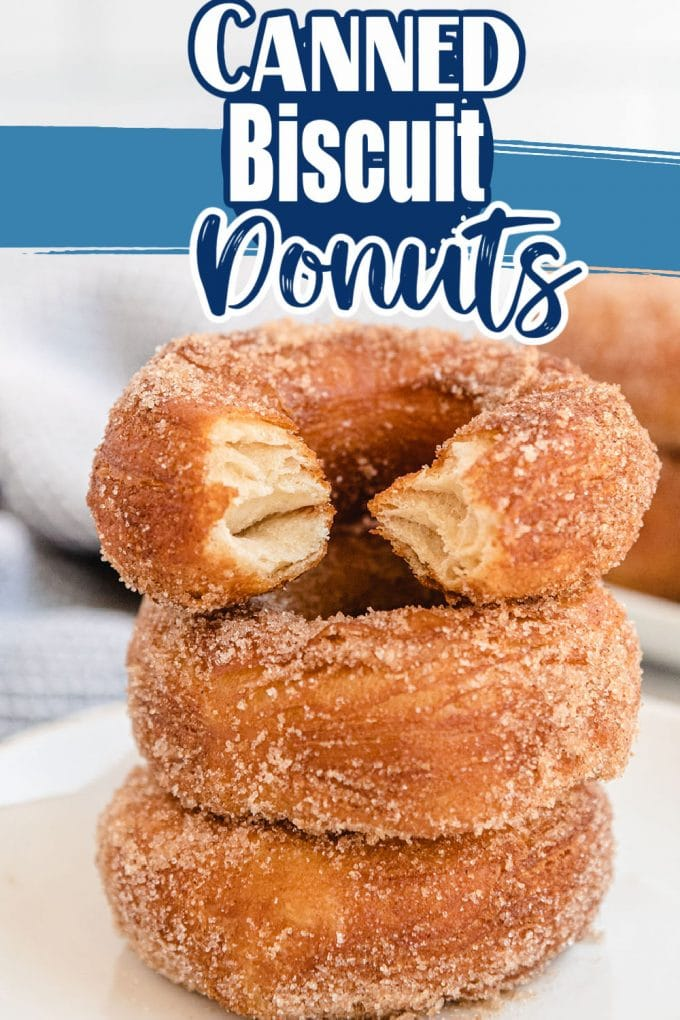 Canned Biscuit Donuts pinterest