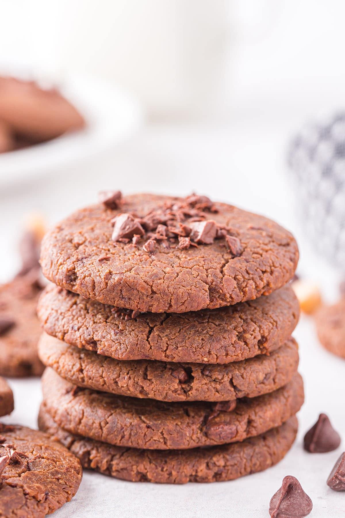 chickpea cookies hero image
