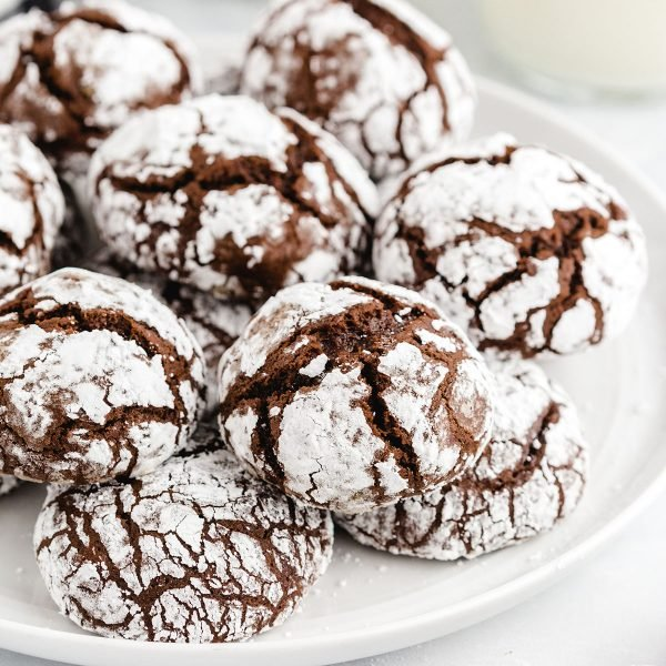 Chocolate Crinkle Cookies featured image