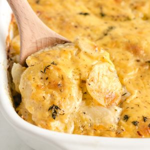 scalloped potatoes featured image
