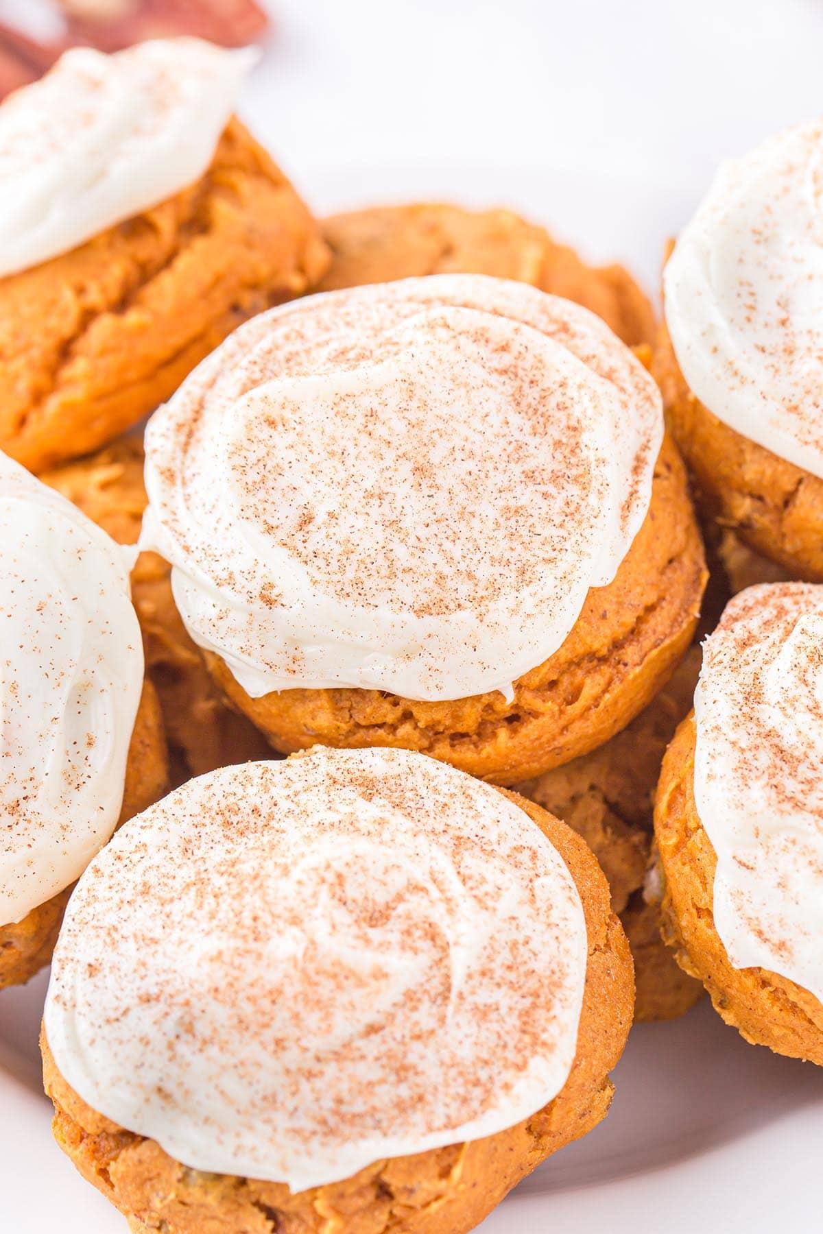 pumpkin cake mix cookies