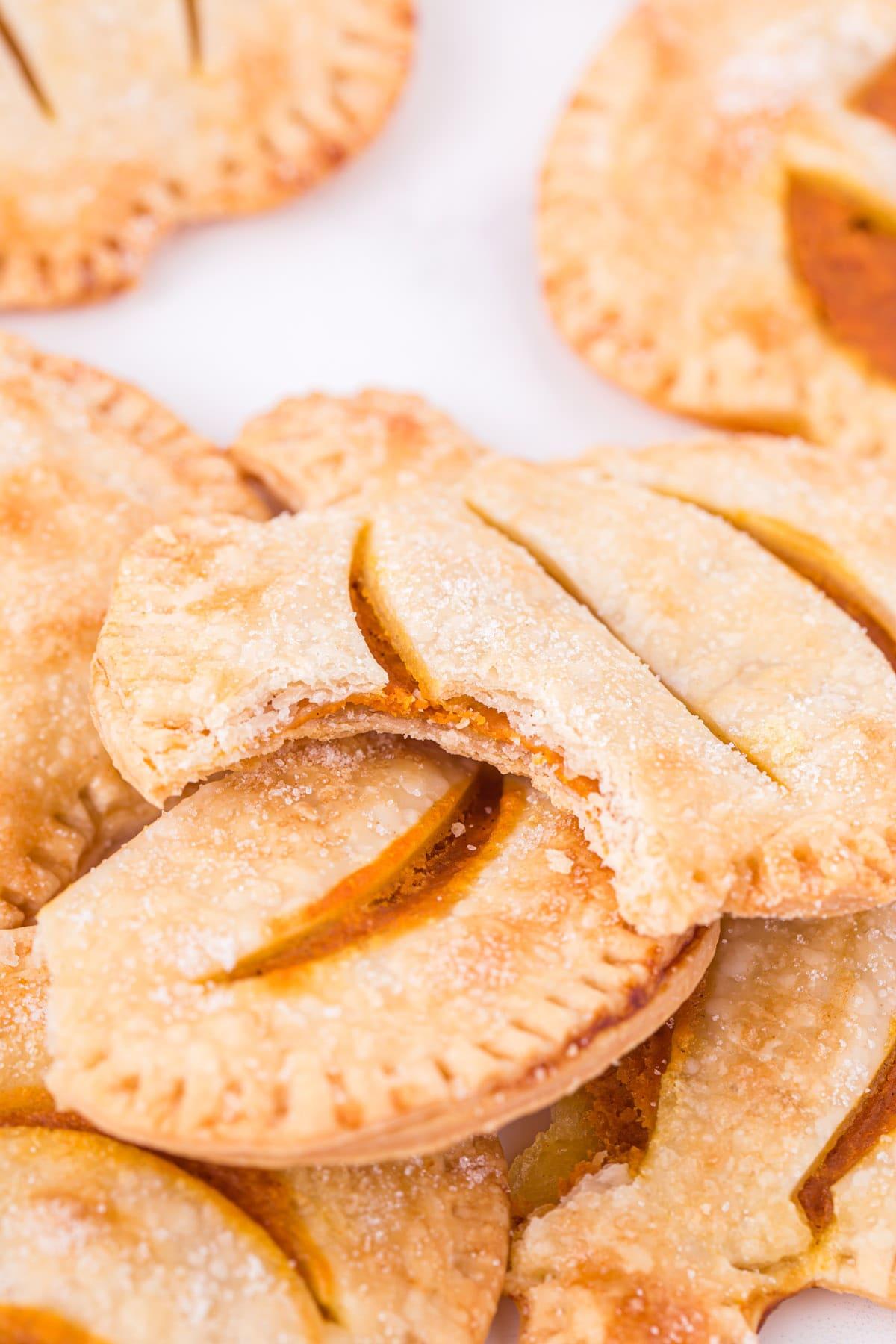 bitten hand pies