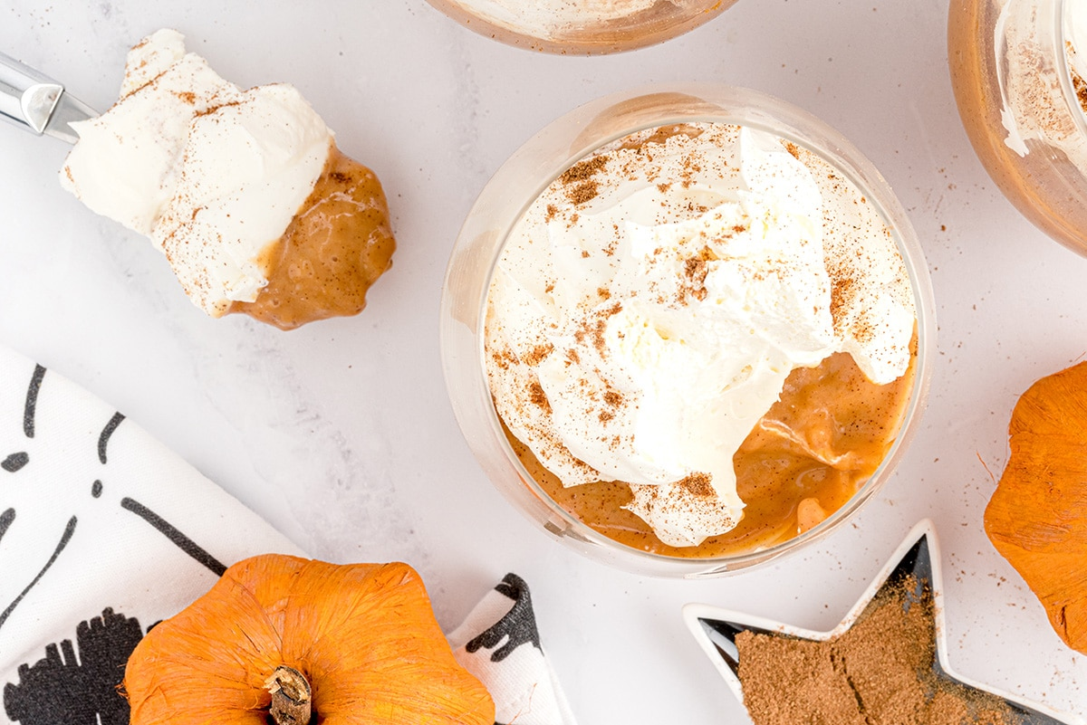 pumpkin pudding