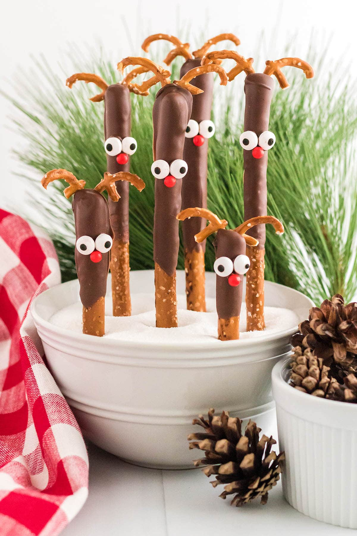 Reindeer Pretzel Rods hero image